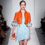 Роскошные платья из гипюра: модные решения в коллекциях 2014 года
