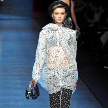 Платье-туника с брюками: модный выбор сезона Осень-Зима 2011-2012