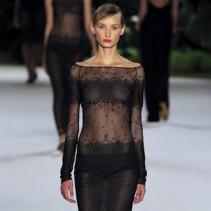 Прозрачное платье 2013: откровенность и сдержанность в одном наряде