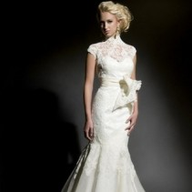 Выбор модели свадебного платья для худых и стройных невест