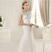 Свадебные платья годе – модный тренд 2012-2013