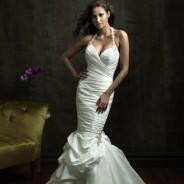 Свадебные платья «русалка» – изящные и смелые