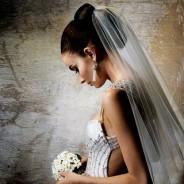Свадебные платья с фатой – воздушный и романтичный образ