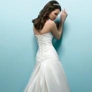 Свадебные платья с корсетом – совершенный и изысканный стан