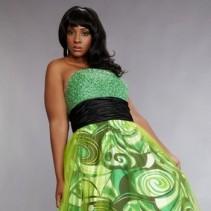 Самые модные вечерние платья 2011 для полных