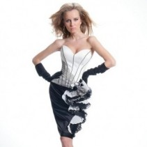 Вечерние платья Оксаны Мухи 2011 – две восхитительные коллекции