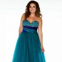 Роскошные выпускные платья 2013 для полных очаровашек