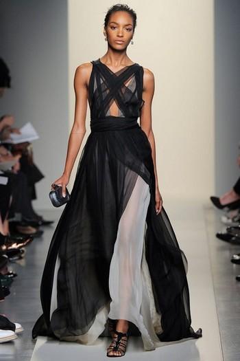 фасоны красивых длинных платьев из трикотажа.