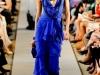 Вечерние платья 2012 длинные синие от Oscar de la Renta