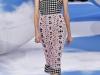 Платье с вязаной ажурной накидкой от Christian Dior