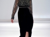 Бархатное платье Carlos Miele
