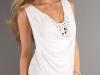 Белое вечернее платье короткое