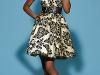 Короткое бежевое платье фото