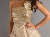 Бежевое платье 2011 нарядное