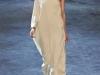 Бежевое платье в греческом стиле от Lanvin