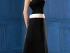 Черно белое платье свадебное