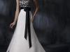 Черно белые свадебные платья фото
