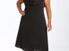 Черное платье для полных фото