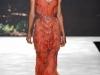 Платья на выпускной кораллового цвета от Badgley Mischka