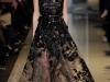 Выпускное платье 2013 черное с золотым от Elie Saab