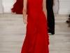 Красное платье на выпускной 2013 от Ralph Lauren