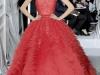 Красное свадебное платье от Christian Dior