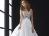 Длинное выпускное платье 2014 белое
