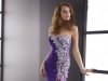Длинное платье на выпускной 2014 фиолетовое