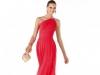 Длинное платье на выпускной 2014 красное