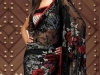 Индийское сари с вышивкой фото
