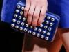 Клатч под синее платье, модель Valentino