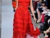 Красные короткие летние платья 2013 Oscar de la Renta