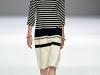 Черно-белое короткое летнее платье в полоску от Veronique Branquinho