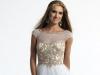 Белое короткое платье на выпускной 2014