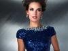 Короткое синее платье на выпускной 2014 фото