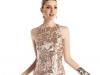 Золотое платье на выпускной 2014 короткое