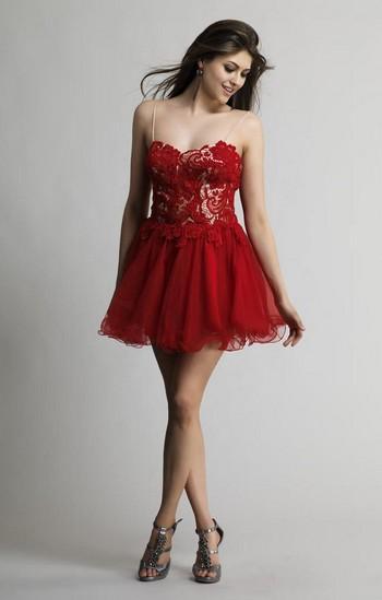 Черно-красное платье выпускное платье