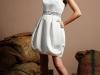 Короткое свадебное платье 2012