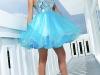 пышные короткие платья на выпускной