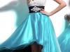 Короткие платья со шлейфом на выпускной 2012