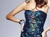 Синее короткое платье на выпускной 2012