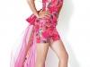 Короткие выпускные платья 2012 со шлейфом