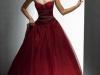 Красные свадебные платья 2011 фото