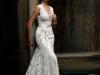 Кружевные свадебные платья фото