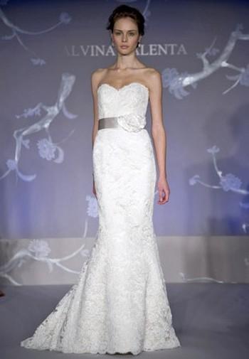 2011 года свадебные платье