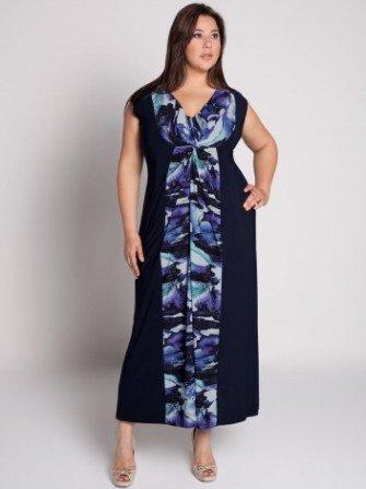 Красивые платья для полных девушек