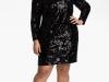 Маленькое черное платье для полной женщины, Aidan Mattox