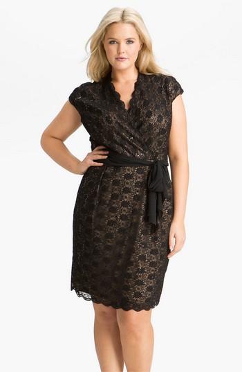 модель платья