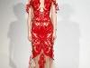 Красное вечернее платье Маркиза осень-зима 2011-2012