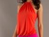 Красные мини-платья 2012